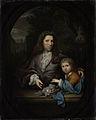 Jan van de Poll (1668-1745) en zijn zoon Harmen Hendrick (1697-1772). Rijksmuseum SK-A-1266.jpeg