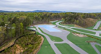 "Atlanta Motorsports Park - Driver Development Centre - 7.5% slope ""Ice Hill"" and 200 foot Skid Pad"