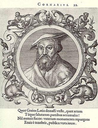 Janus Cornarius - Image: Janus Cornarius