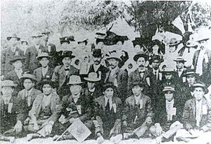 Japanese Mexicans - Japanese immigrant workers at the mine of Cananea, Sonora in the 1910s.