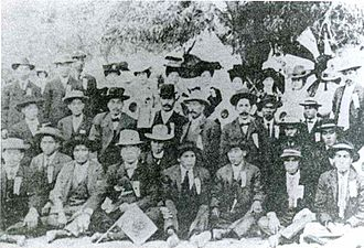 Asian Mexicans - Japanese immigrant workers at the mine of Cananea, Sonora in the 1910s.