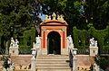 Jardí de Montfort de València, arc.JPG