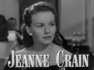A Letter to Three Wives - Image: Jeanne Crain in A Letter to Three Wives trailer