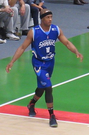 Jerel Blassingame - Blassingame with Antibes Sharks in 2017