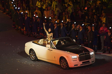 Jessie J performing at the 2012 London Olympics Closing Ceremony Jessie J London 2012.jpg