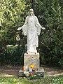 Jesus statue by Lajos Krasznai, Agárd, 2017 Gárdony.jpg