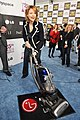 Jodie Foster with the LG Electronics Kompressor Vacuum on 25th Spirit Awards Blue Carpet held at Nokia Theatre L.A. Live on March 5, 2010 in LA.jpg