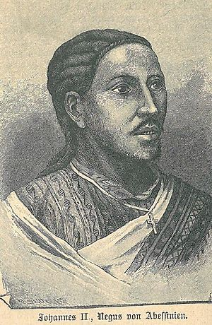Mek'ele - Negus Yohannes IV, Emperor of Ethiopia