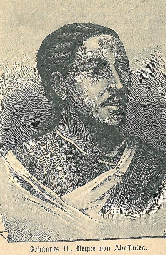 Johannes IV Kaiser von %C3%84thiopien nach Dr. Anton Stecker