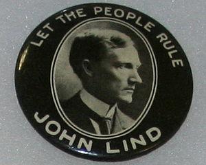 John Lind (politician) - John Lind campaign button