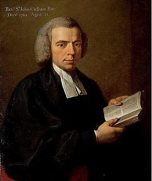 Sir John Cullum, 6th Baronet - Sir John Cullum, portrait by Angelica Kauffman