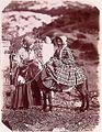 John Dillwyn Llewelyn Eleanor and her donkey, 1853.jpg