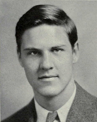 John Townsend (basketball) - Townsend from 1938 Michiganensian