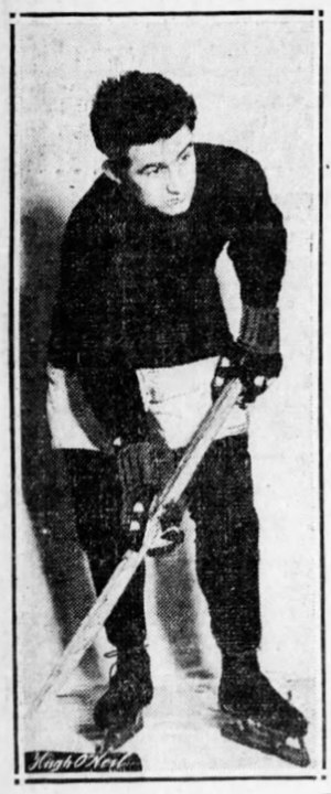 John McGrath (ice hockey player) - McGrath with the New York Wanderers in 1912.
