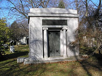 Jokichi Takamine - The mausoleum of Jokichi Takamine in Woodlawn Cemetery, Bronx, New York