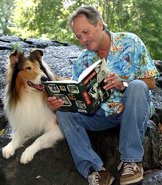 Jon Provost - Provost reading his autobiography Timmy's in the Well in 2009