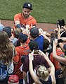 José Altuve signing autographs in Baltimore in 2017.jpg