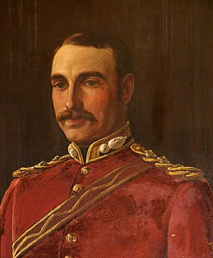 Joseph Bradney - Bradney as a lieutenant of the Royal Monmouthshire Royal Engineers Militia in 1885.