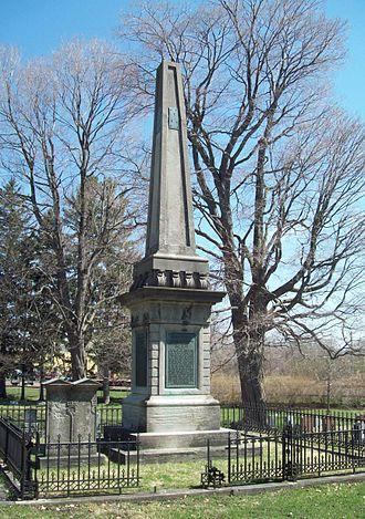 Batavia Cemetery - Joseph Ellicott Obelisk