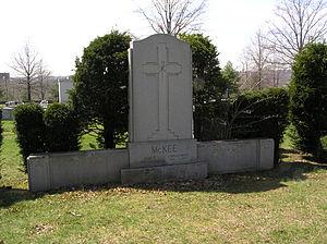 Joseph V. McKee - The gravesite of Mayor Joseph V. McKee in Gate of Heaven Cemetery