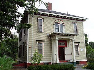 Josiah Bartlett - Image: Josiah Bartlett Museum (exterior) Amesbury, Massachusetts