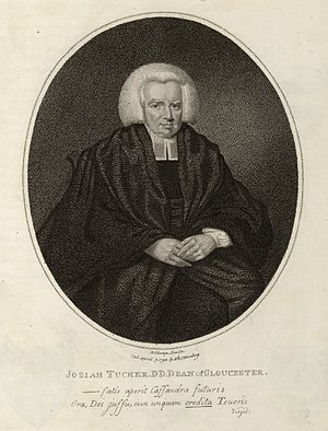 Josiah Tucker - 18th century engraving of Josiah Tucker