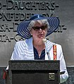 June Miller benediction - Confederate Memorial Day - Arlington National Cemetery - 2014.jpg