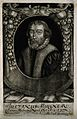 Justinius Muellner. Mezzotint by M. Fennitzer. Wellcome V0004163.jpg