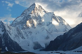 Mount Everest - The second highest mountain, K2