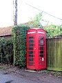 K6 telephone box by the Old Post Office - geograph.org.uk - 1611368.jpg