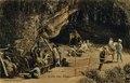 KITLV - 1405808 - Kurkdjian, Ohannes - Grotto near Tosari - 1910.tif