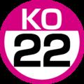 KO-22 station number.png