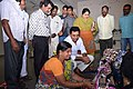 KTR observing Handloom Work.jpg