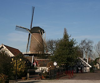 Kaatsheuvel Village in North Brabant, Netherlands