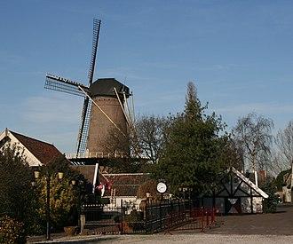 Kaatsheuvel - Windmill De Eendragt in 2008