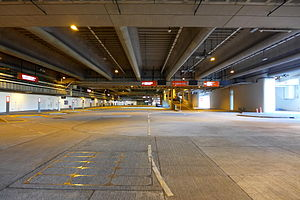Kai Tak Cruise Terminal - Coach Drop off area