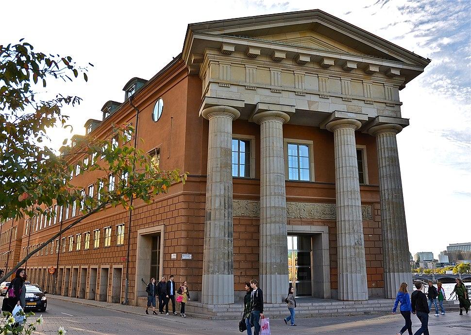 Kanslihuset östra fasaden 2