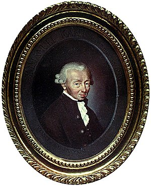 Immanuel Kant -  Immanuel Kant by Carle Vernet (1758–1836)