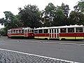 Karlovo náměstí, historická tramvajová souprava (04).jpg