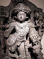 Karnataka, epoca hoysala, bhairava, xiii sec, 02.JPG