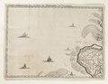 Karta över sydvästra Holland med Middelburg och Vlissingen - Skoklosters slott - 98015.tif