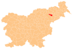 The location of the Municipality of Rače–Fram