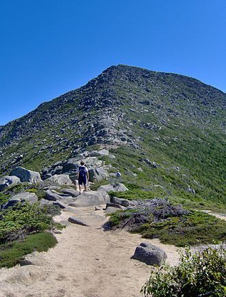 Mount Katahdin - The Appalachian Trail on Katahdin's Hunt Spur