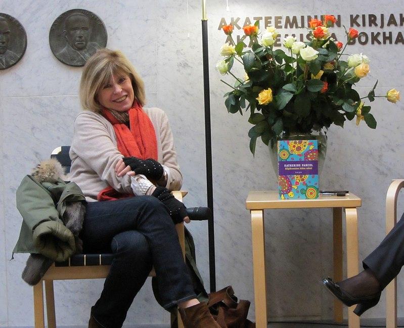 L'écrivaine française Katherine Pancol à l'occasion de la Journée mondiale du livre à Helsinki en 2012 | Source : Wikimedia