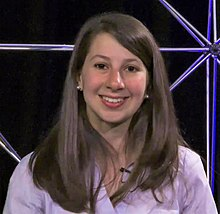 Katie Bouman answers questions about the Event Horizon Telescope project.jpg
