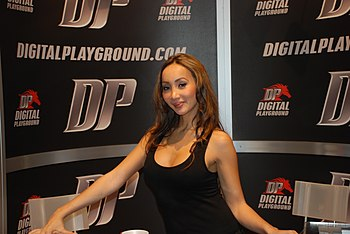Katsuni at the 2009 Adult Entertainment Expo