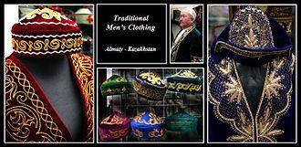 Kazakh clothing - Traditional Kazakh men's clothing