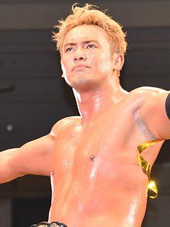 Kazuchika Okada Japanese professional wrestler