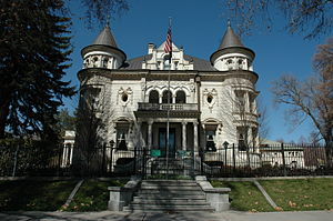 Carl M. Neuhausen - Image: Kearns Mansion Salt Lake City
