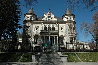 Utah Governor's Mansion - Image: Kearns Mansion Salt Lake City